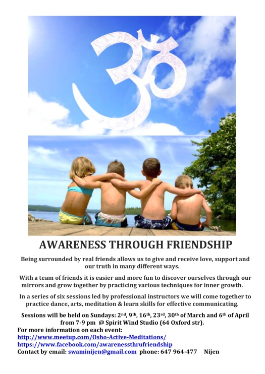 Awareness through Friendship - Highway to Enlightenment