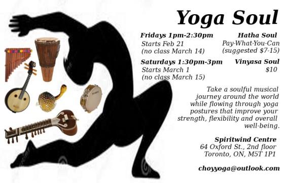 *NEW* A Soulful Musical Yoga